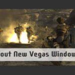 Fallout New Vegas Windows 10