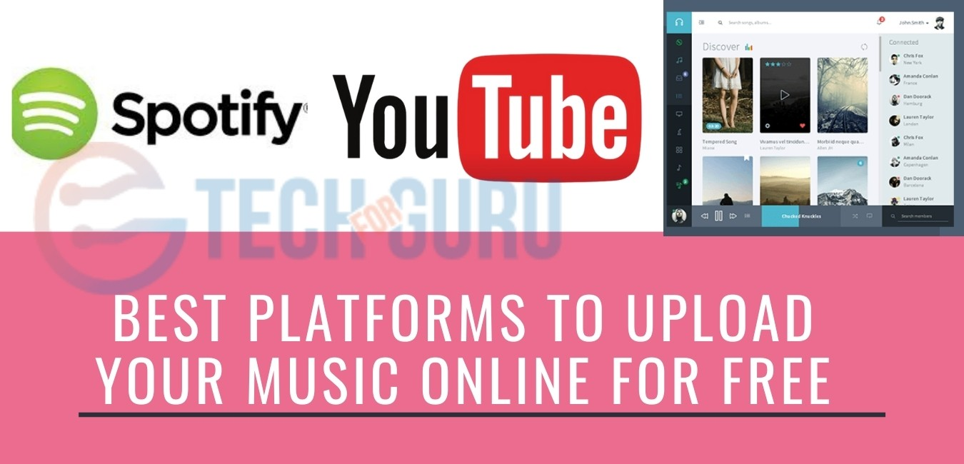 Best Platforms To Upload Your Music Online For Free
