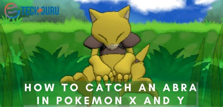 How To Catch An Abra In Pokemon X And Y