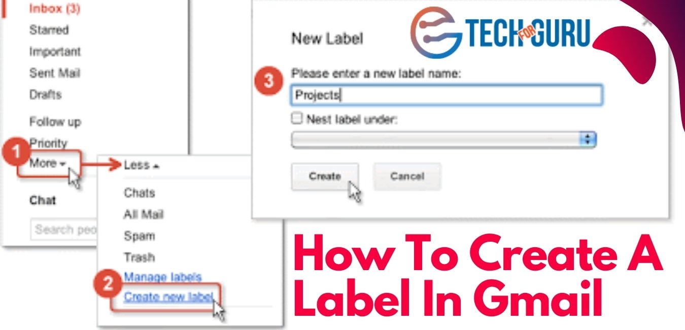 How To Create A Label In Gmail