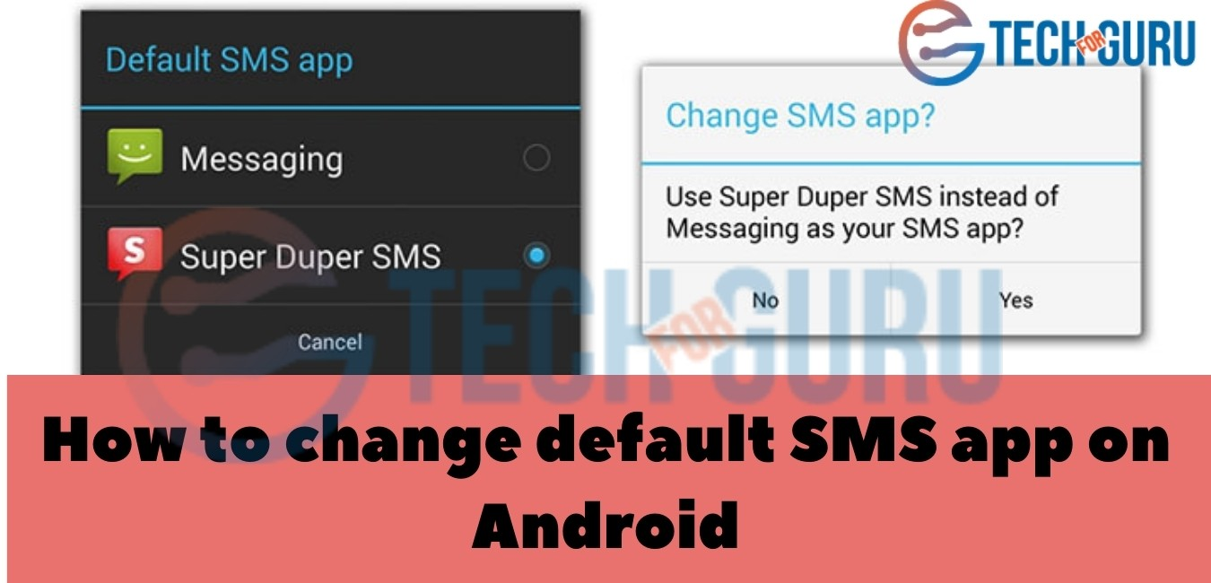 Here are the steps to change the default app