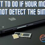 What to do if your mobile does not detect the SIM card