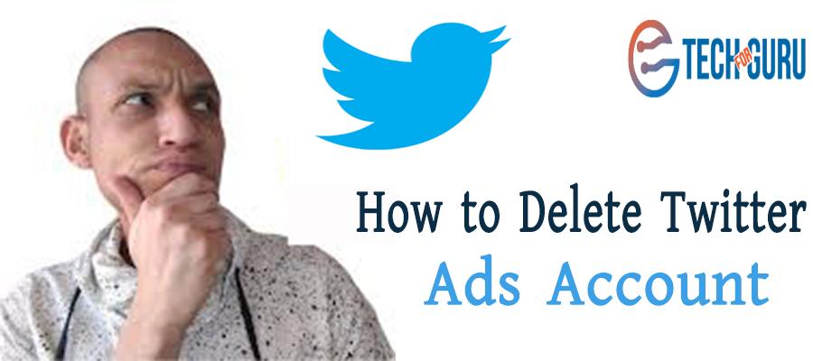 Delete Twitter Ads Account