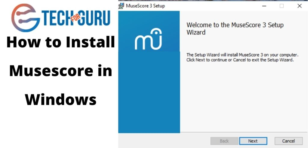how to install musescore in windows