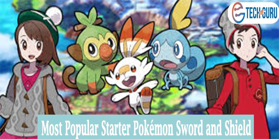 Starter Pokémon Sword and Shield