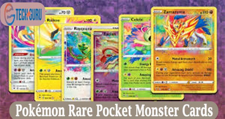 Pokémon Rare Pocket Monster Cards