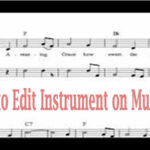 Edit Instrument on Musescore