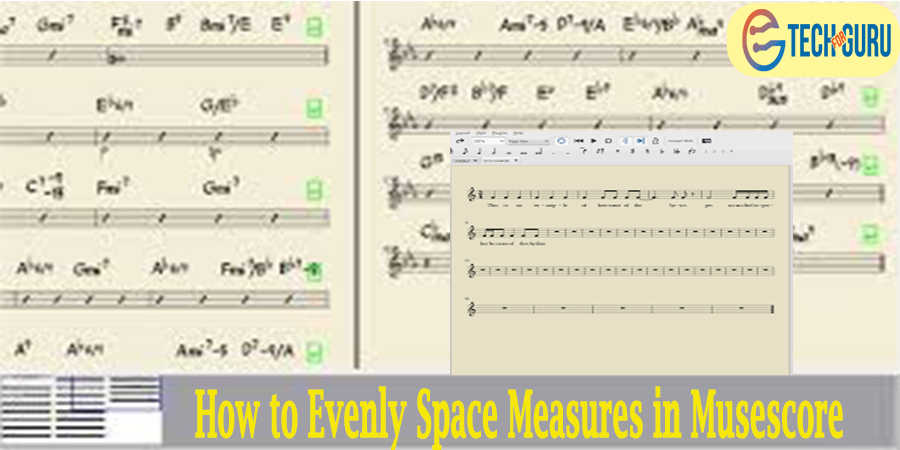 Evenly Space Measures in Musescore