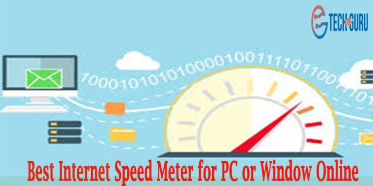 Internet Speed Meter for Window Online