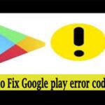 Google play error code 300