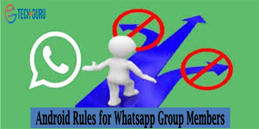 Rules for Whatsapp Group Members