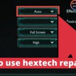 how to use hextech repair tool
