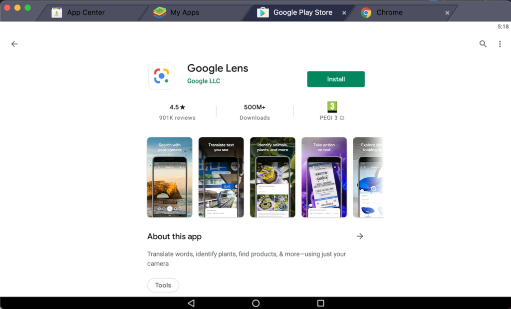 download-google-lens-on-pc-using-bluestacks