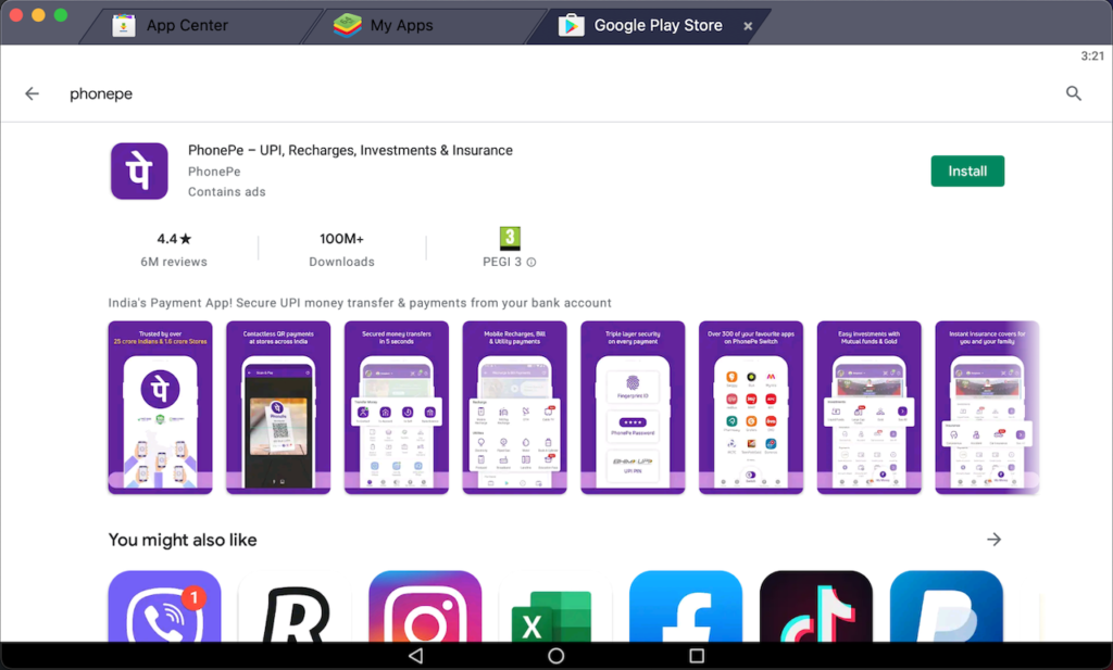 download-phonepe-on-pc-using-bluestacks