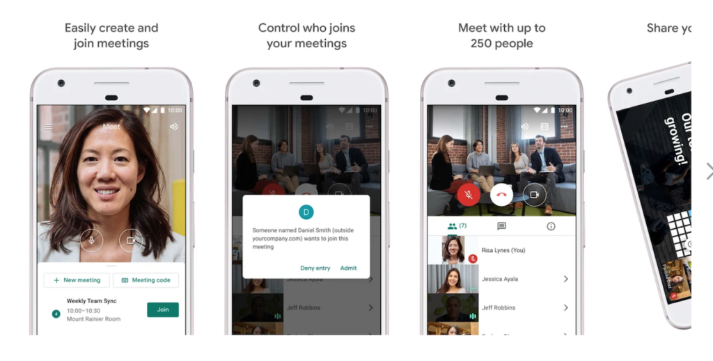 google-meet-app-features
