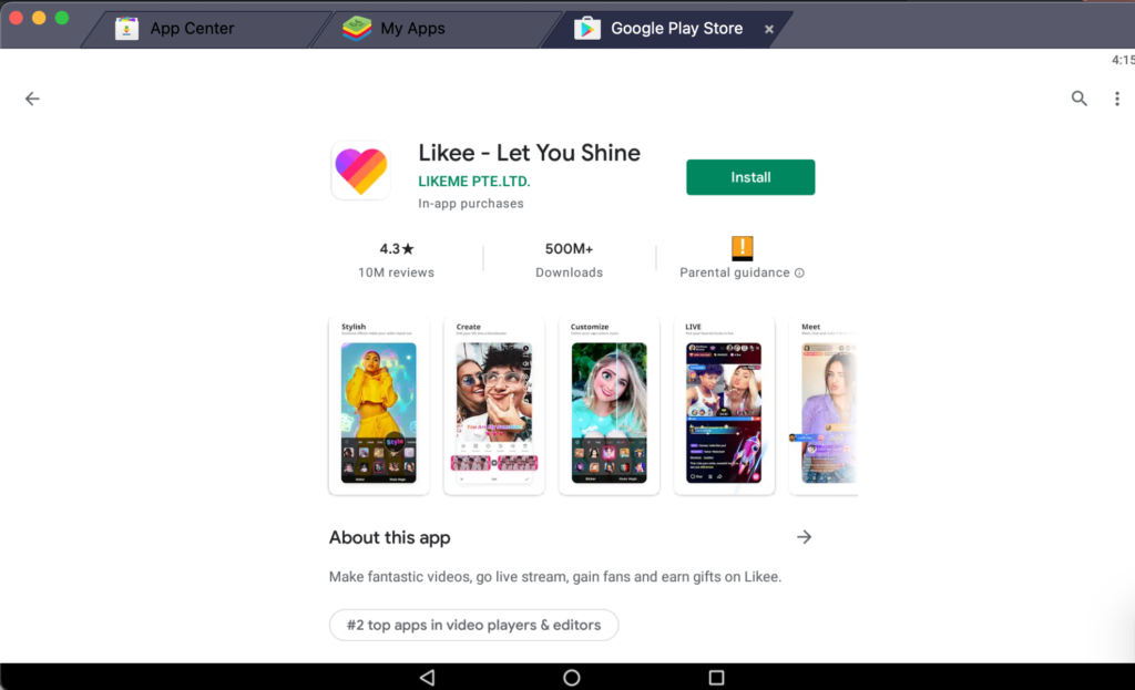install-likee-on-pc-using-bluestacks-app-player