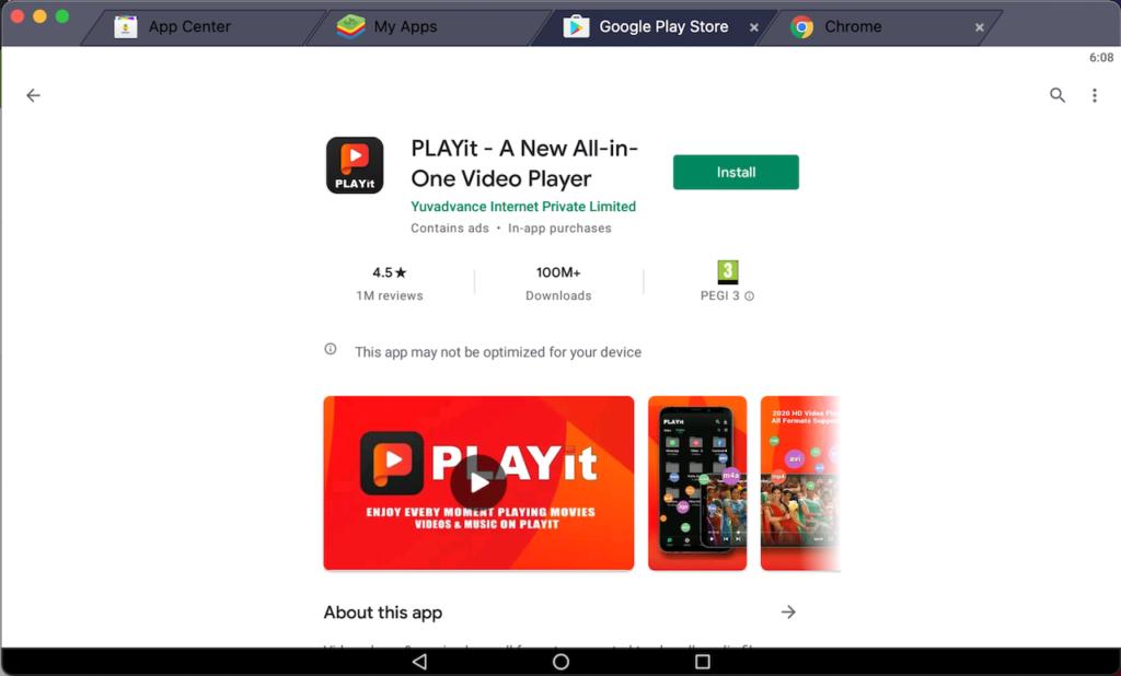 install-playit-app-on-pc-using-bluestacks-emulator