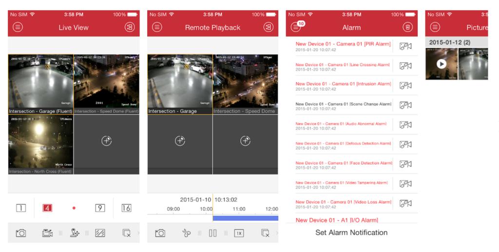 ivms-4500-app-screenshots